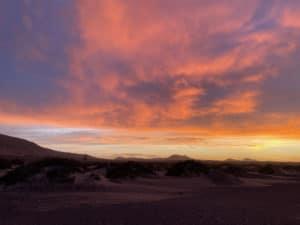 Tangoreisen sunrise 2